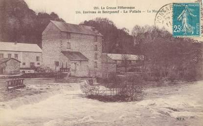 """CPA FRANCE 23 """"Environs de Bourganeuf, Le Palais, La Minoterie""""."""