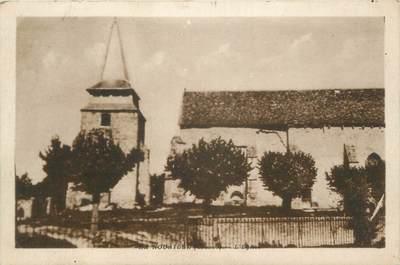 """CPA FRANCE 23 """"La Nouaille, L'église""""."""
