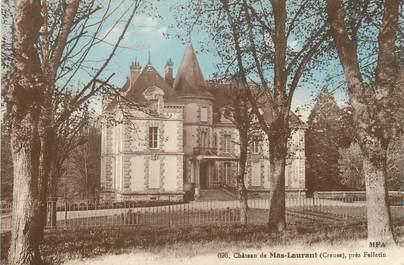"CPA FRANCE 23 ""Mas Laurant, Le château""."