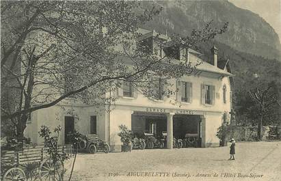"""CPA FRANCE 73 """"Aiguebelette, Annexe de l'Hotel Beau Séjour"""""""