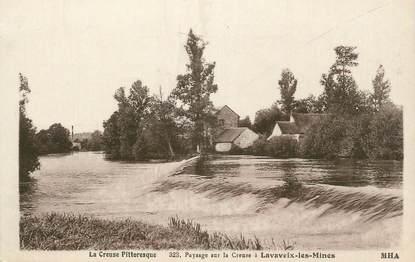 """CPA FRANCE 23 """"Lavaveix les Mines, Vue sur la Creuse""""."""