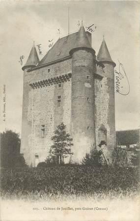 """CPA FRANCE 23 """"Jouillat, Le château""""."""