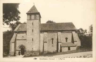 "CPA FRANCE 23 ""Gentioux, L'église""."