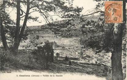 """CPA FRANCE 23 """"Gentioux, Vallée de la Maulde""""."""