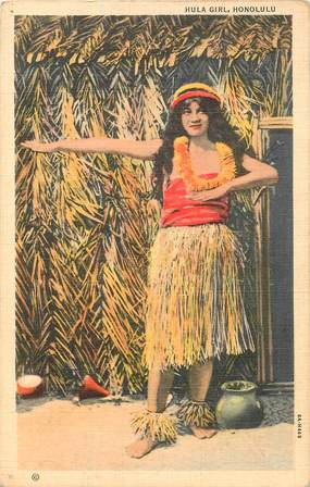 "CPA HAWAII ""Honolulu, danseuse"""