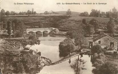 "CPA FRANCE 23 ""Le Grand Bourg, Les bords de la Gartempe""."