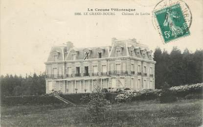 """CPA FRANCE 23 """"Le Grand Bourg, Château de Laribe""""."""