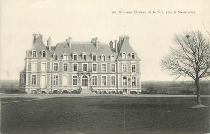 """CPA FRANCE 23 """"Près de La Souterraine, Le château de la Fot""""."""