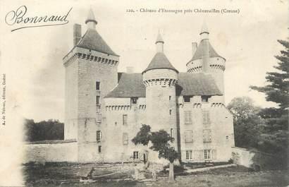 """CPA FRANCE 23 """"Près de Chénérailles, Le château d'Etansagne"""""""