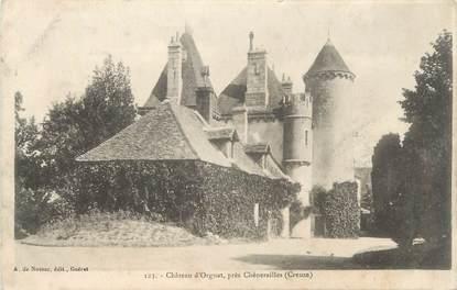 "CPA FRANCE 23 ""Orgnat, Le château""."