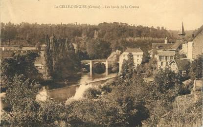"""CPA FRANCE 23 """"La Celle - Dunoise, Les bords de la Creuse""""."""