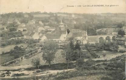 """CPA FRANCE 23 """"La Celle - Dunoise, Vue générale""""."""