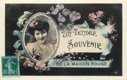 """CPA FRANCE 23 """"La Maison Rouge""""."""