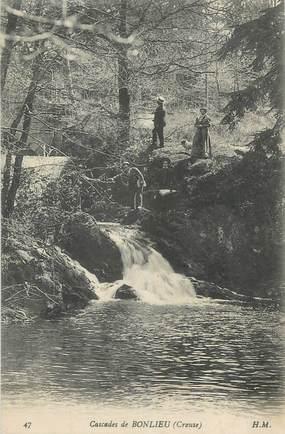 "CPA FRANCE 23 ""Bonlieu, Les cascades""."