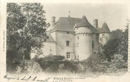 """CPA FRANCE 23 """"Beaumont, Le château""""."""