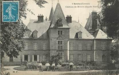 """CPA FRANCE 23 """"Moisse, Le château""""."""