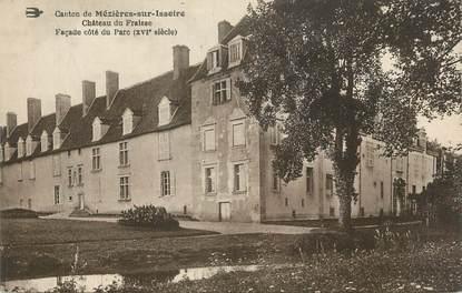 """CPA FRANCE 87 """" Mezières sur Issoire, Château du Fraisse""""."""