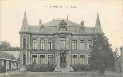 """CPA FRANCE 80 """" Fouilloy, Le château""""."""