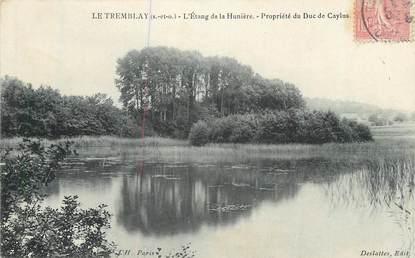 """CPA FRANCE 78 """" Le Tremblay, L'étang de la Hunière""""."""