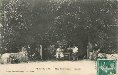 """CPA FRANCE 78 """" Vert, Allée de la Ferme, la laiterie""""."""
