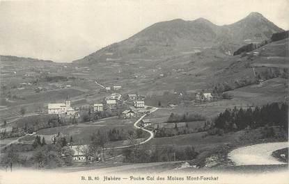 """CPA FRANCE 74 """" Habère, Poche Col des Moises Mont Forchat""""."""