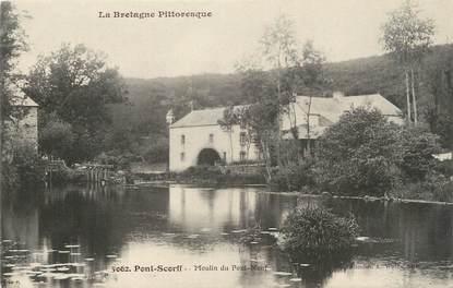 """CPA FRANCE 45 """" Pont Scorff, Moulin du Pont Neuf""""."""