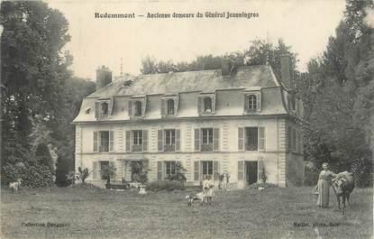"""CPA FRANCE 77 """" Redemment, Ancienne demeure du Général Jeanningres""""."""