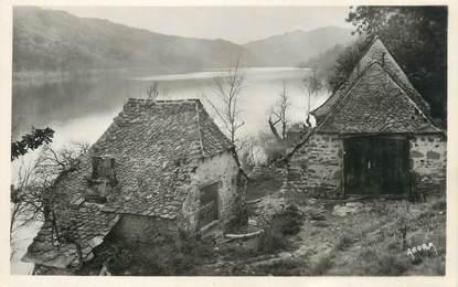 """CPSM FRANCE 23 """" La Presqu'île de Laussac, Le Lac de Sarrans""""."""