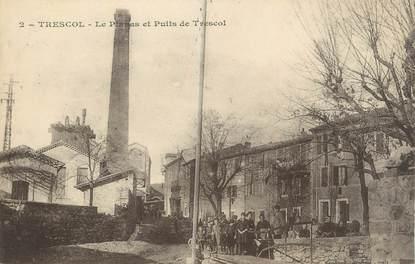 """CPA FRANCE 30"""" Trescol, Le Plamas et le puits""""."""