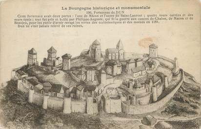"CPA FRANCE 71 "" Dun, La forteresse""."