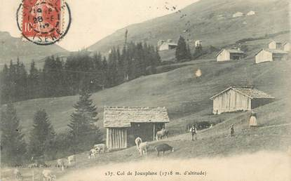 "CPA FRANCE 74 "" Col de Jouxplane""."