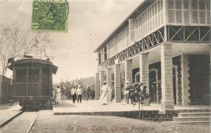"""CPA GUINEE """"Tabili, la gare"""""""