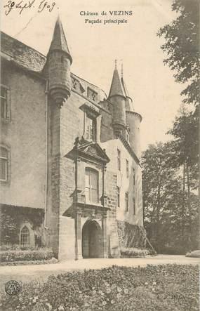 """CPA FRANCE 49 """" Vezins, Le château'."""