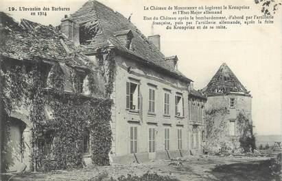 """CPA FRANCE 51 """" Mondement, Le château""""."""