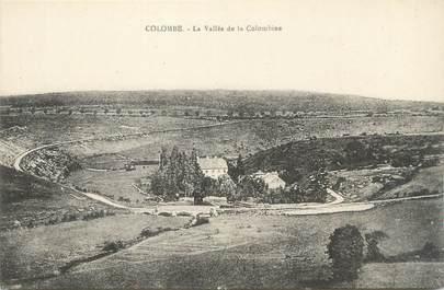 "CPA FRANCE 70 ""Colombe, La vallée de la Colombine""."