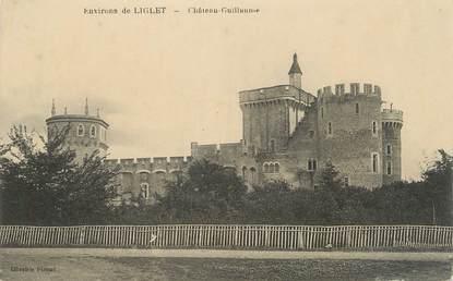 """CPA FRANCE 86 """"Environs de Liglet, Château Guillaume""""."""