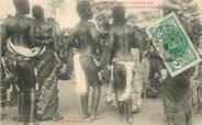 """Afrique CPA COTE D'IVOIRE """"Danseuses Ebriés"""""""