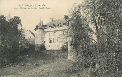 "CPA FRANCE 63 ""Cordès, Le château""."