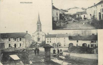 """CPA FRANCE 54 """" Neufmaisons, Vues""""."""