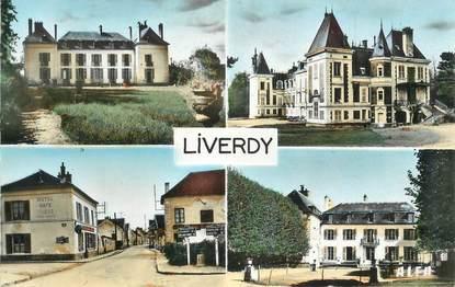 """CPSM FRANCE 77 """" Liverdy, Le château de Villepatour""""."""