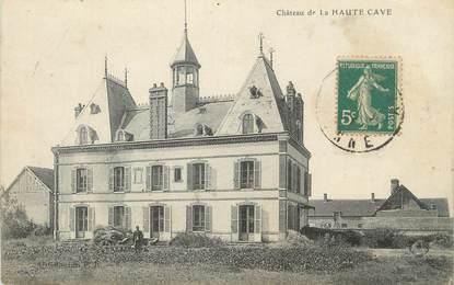 """CPA FRANCE 89 """" Haute Cave, Le château""""."""