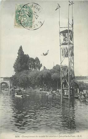 """CPA FRANCE 94 """" Joinville le Pont, Championnat du monde de natation""""."""