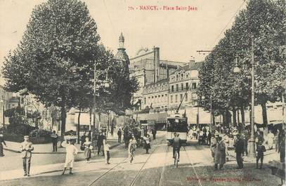 "CPA FRANCE 54 "" Nancy, Place St Jean""."