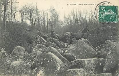"""CPA FRANCE 24 """" St Estèphe, Chapelet du Diable""""."""
