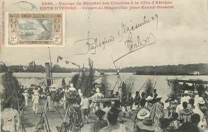 """COTE D'IVOIRE """"Départ de Bingerville"""""""