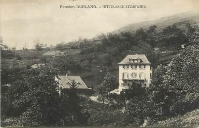 "CPA FRANCE 68 "" Hittelbach Stosswihr, Pension Ruhland""."