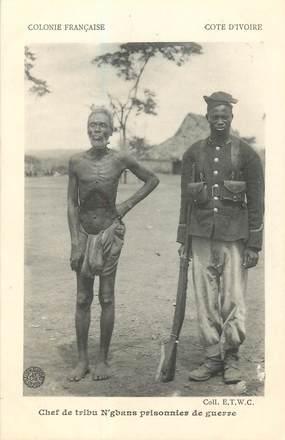 """COTE D'IVOIRE """"Chef de tribu N'gbans prisonnier de guerre"""""""