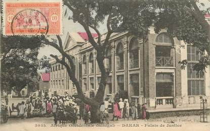 "CPA SENEGAL ""Dakar, palais de justice"""
