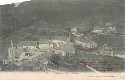 """CPA FRANCE 88 """" Pierre Percée, Le village""""."""