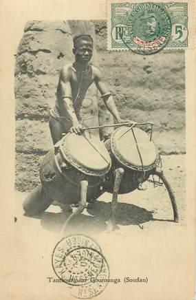 "CPA SOUDAN ""Tambourineur Gourounga"""